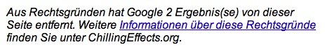 google-zensur